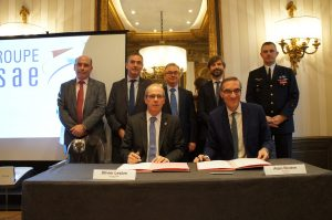 Signature of the membership of Supméca at ISAE Group